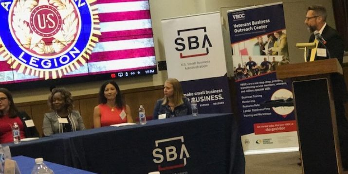 Lee Goldberg Attends SBA Summit in Washington DC